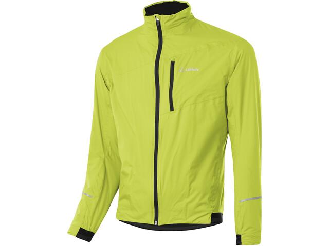 Löffler Pace Primaloft Next Chaqueta Ciclismo Hombre, amarillo